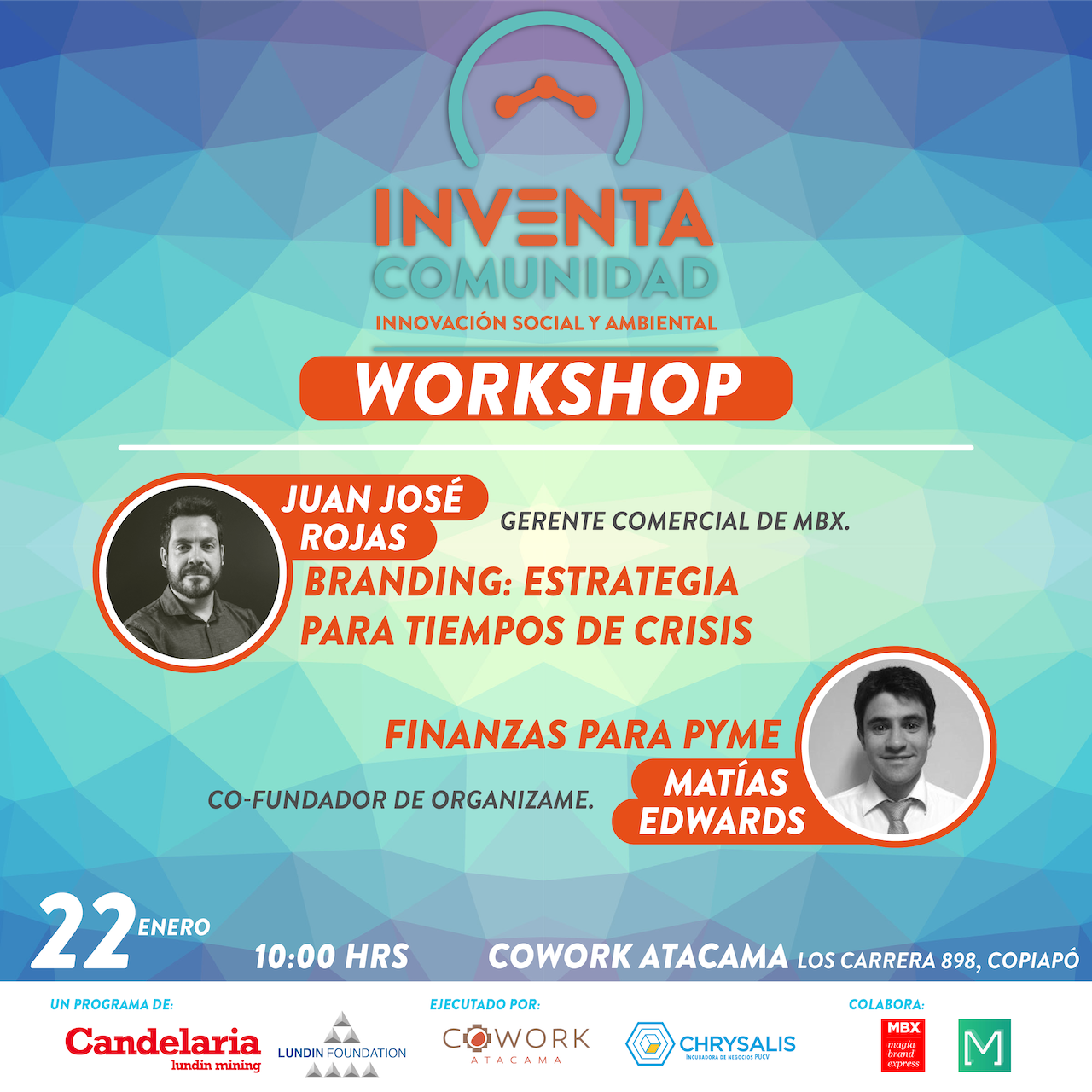 Workshop, Branding y Finanzas para Pyme